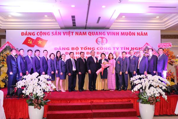 Đại hội Đại biểu Đảng bộ Tổng công ty Tín Nghĩa nhiệm kỳ 2020-2025